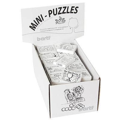 Mini-Puzzle in der Streichholzschachtel