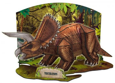 Cheatwell Build-It 3D DInosaurier
