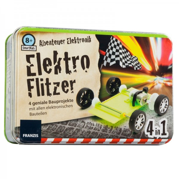 Smart Kids Metall-Box: Elektroflitzer