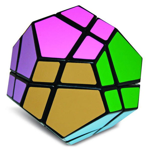 Meffert's Skewb Ultimate 12 color