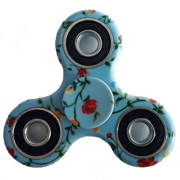 "Fidget Spinner bedruckt: ""Blumen"""