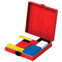 Mondrian Blocks - Red Edition