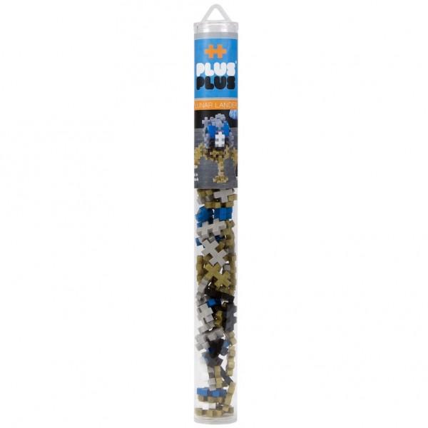 Plus-Plus Tube Mini: Mondlandefähre - 100 Bausteine