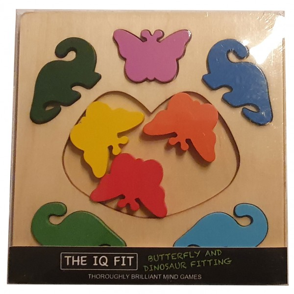 The IQ Fit Butterfly and Dinosaur Fitting