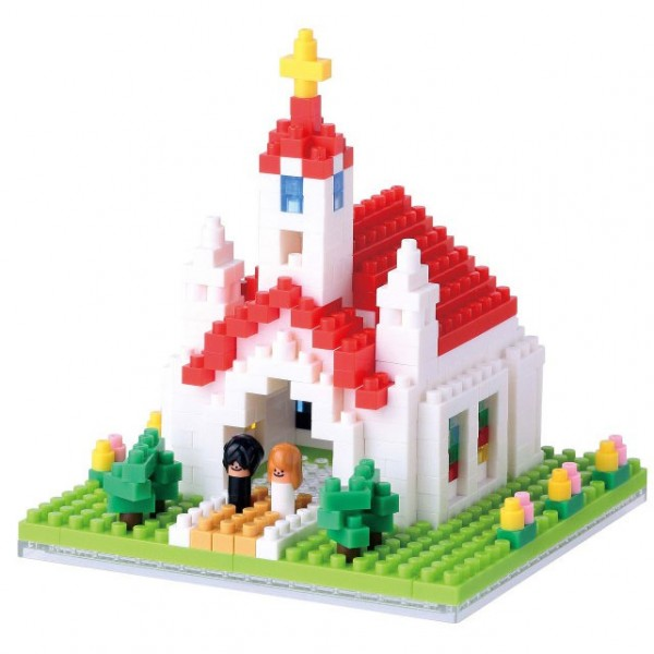 Nanoblock: Church (Kirche)