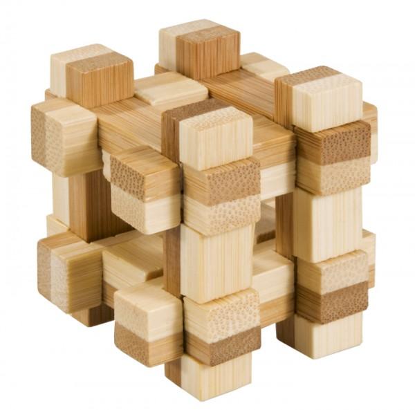 "Bambus-Puzzle in der Dose ""Gitterbox"""