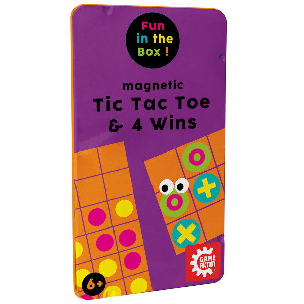 Magnetic Travel Game Tic Tac Tow / 4 Gewinnt