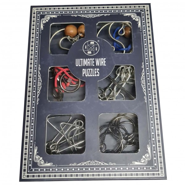 Ultimate Wire Puzzles: Set of Six