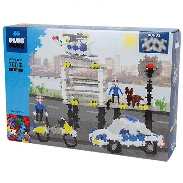 Plus-Plus Mini Basic: Polizei - 760 Bausteine