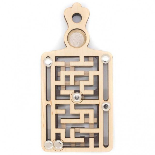 Euro-Flaschenlabyrinth