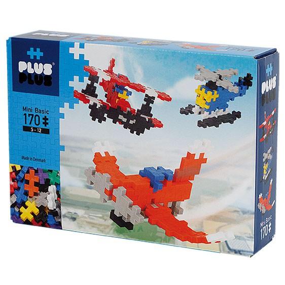 Plus-Plus Mini Basic: Aircraft - 170 Bausteine