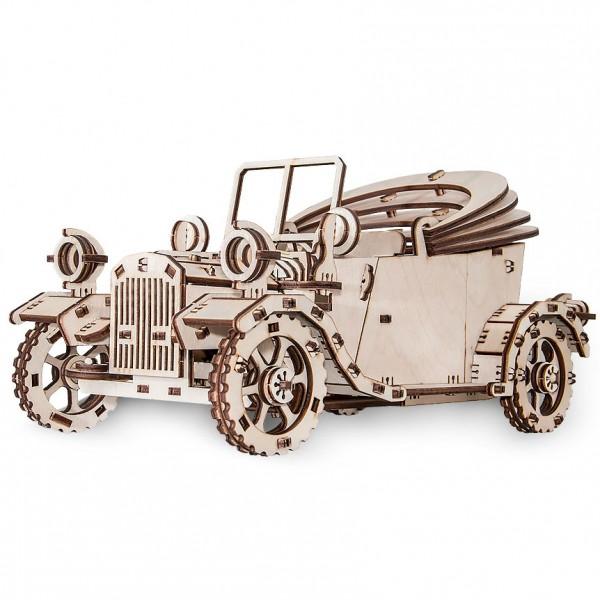 Eco Wood Art: Retro Car