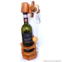 Leonardo's Mind Puzzles: Flaschen-Schloss mit Korkenzieher