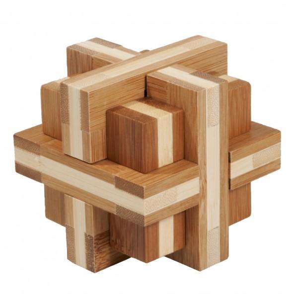 "Bambuspuzzle ""Doppelkreuz"""