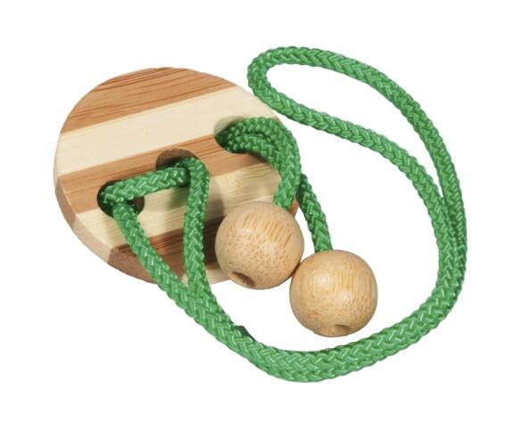 Seilpuzzle in der Dose hellgrün