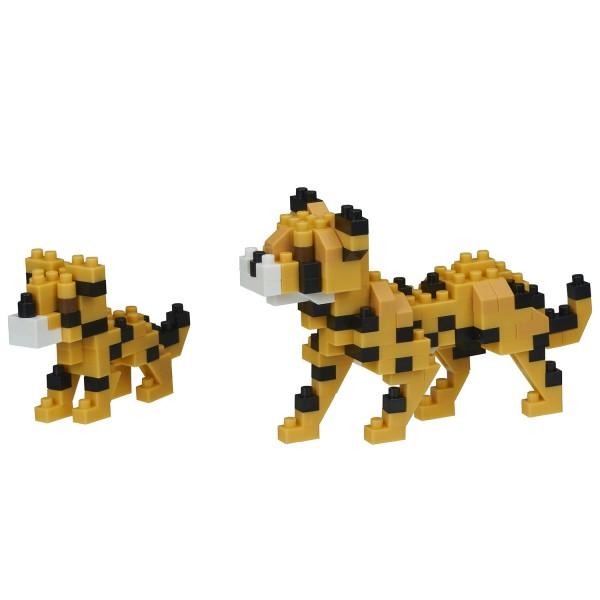 Nanoblock: Cheetahs (Geparden)