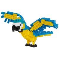 Nanoblock: Blue and yellow Macaw (Blauer und gelber Ara)