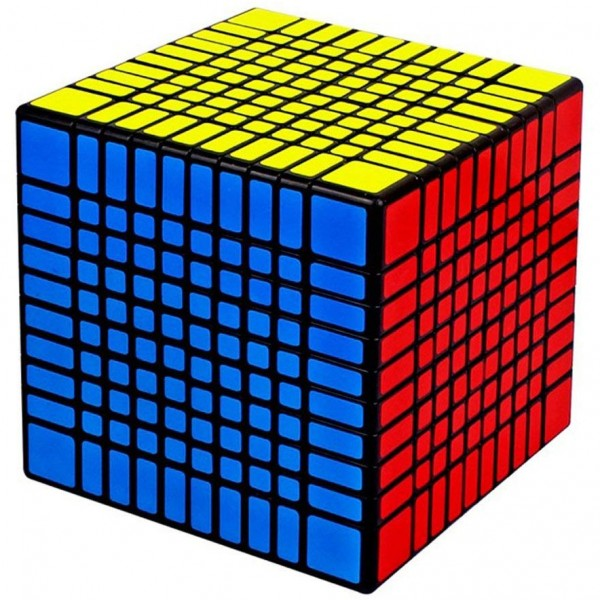 YuXin Huanglong 10x10x10 Magic Cube schwarz