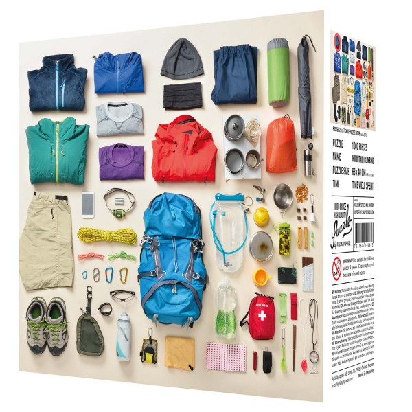 """High Quality Puzzlle """"Climbing Gear"""" (1000 Teile)"""