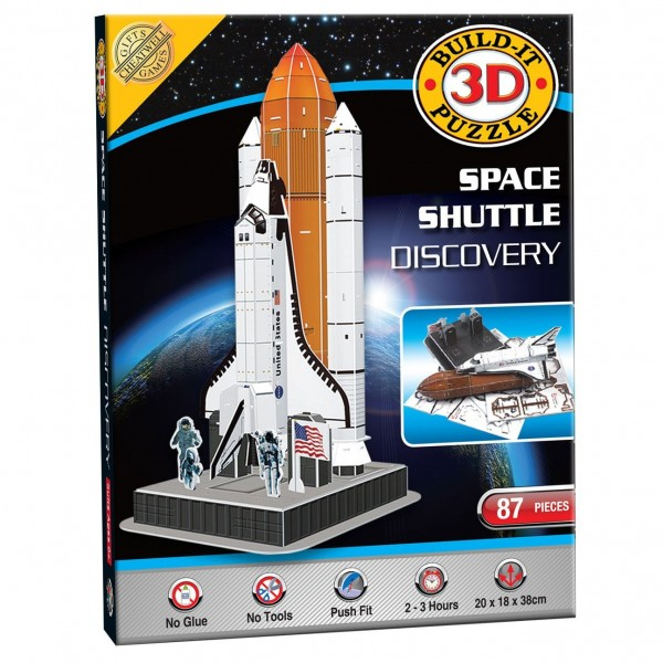 Cheatwell Build-It 3D: Space Shuttle Discovery