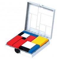 Mondrian Blocks - White Edition
