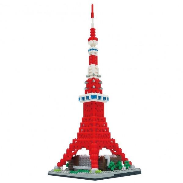 Nanoblock: Tokyo Tower Deluxe Edition