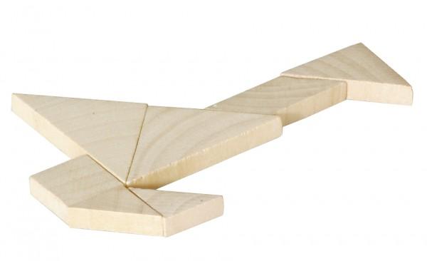 """Geduldspiel """"Quadrat"""" (Tangram)"""