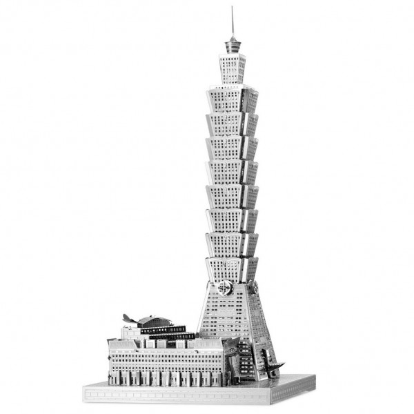 Metal Earth: Iconx Taipei 101