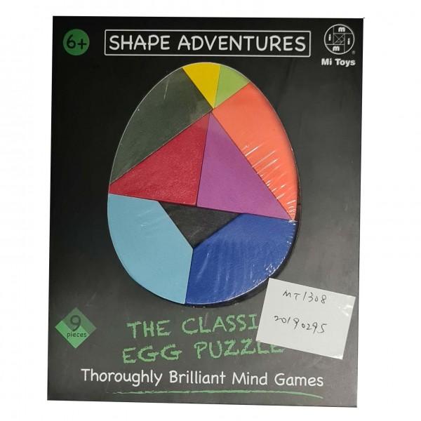 Shape Adventures: The Classic Egg Puzzle