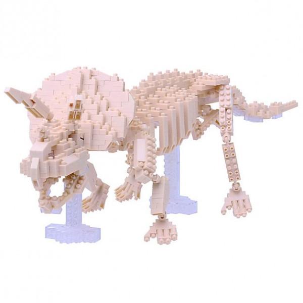 Nanoblock: Triceratops Skelett