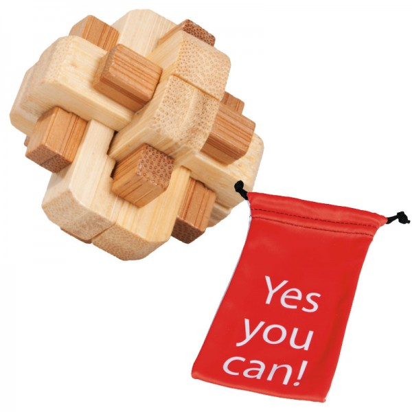 "Puzzle in Beutel ""Yes You Can"": Mix-Knoten"
