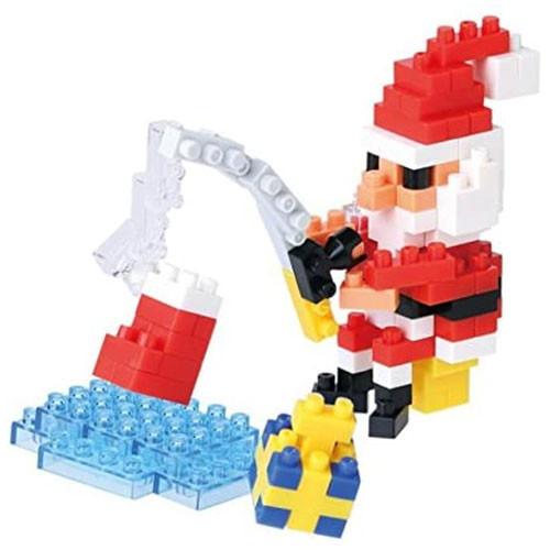 Nanoblock: Santa Claus Fishing