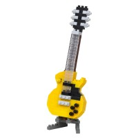 Nanoblock: Electric Guitar Yellow