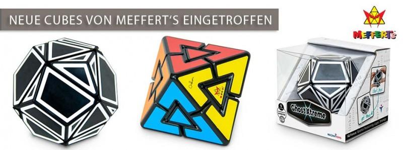 Neue Cubes von Meffert's