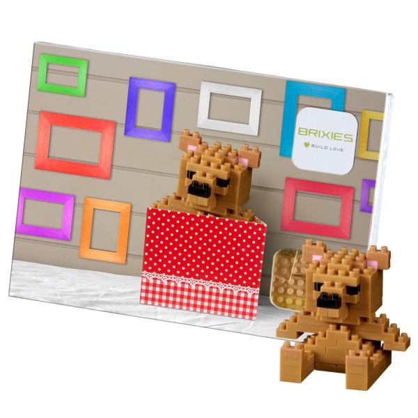 Brixies Postkarte Teddybär