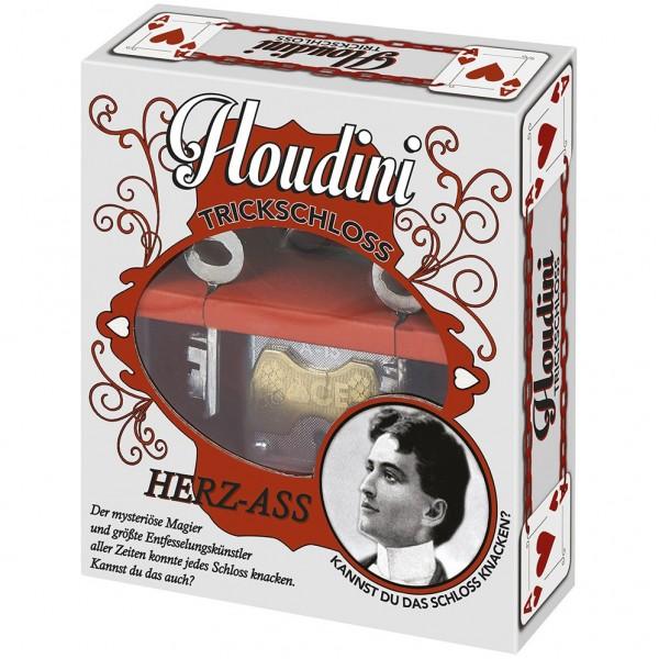 Houdini Puzzle Lock - Herz-Ass