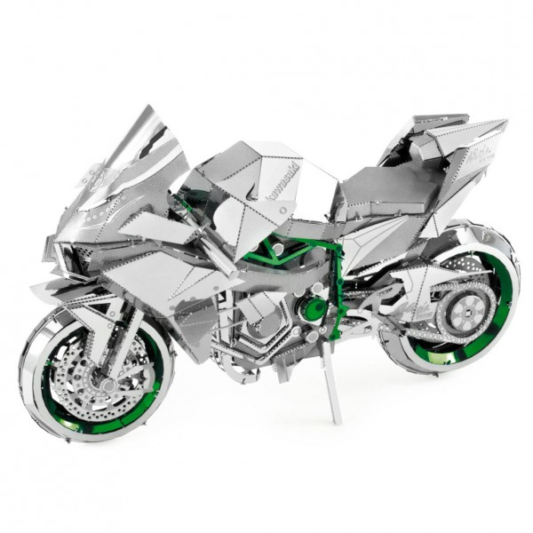 Metal Earth: Iconx Kawasaki Ninja Green