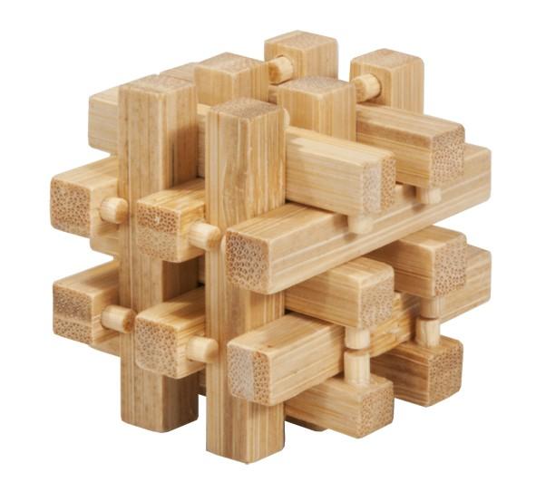 """Bambus-Puzzle in der Dose """"Verschlossen"""""""