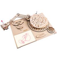 Rokr: Da Vinci's Drawing Machine The Robot