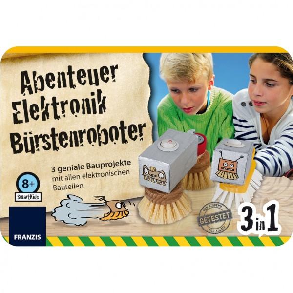 Smart Kids Metall-Box: Bürstenroboter