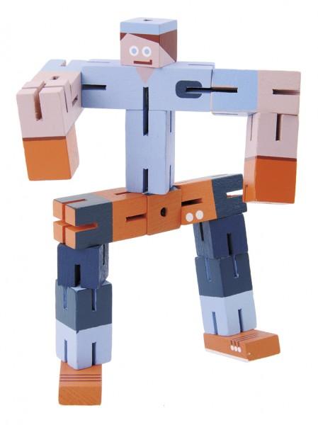 Puzzleboy blau orange hellblau