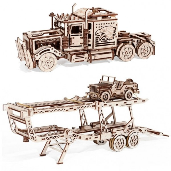 Wood Trick Sparpaket: Big Rig + Car Trailer