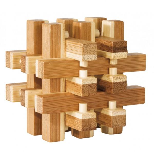"""Bambuspuzzle """"Verschlossen"""""""