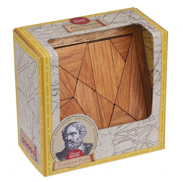Great Minds Archimedes' Tangram Puzzle
