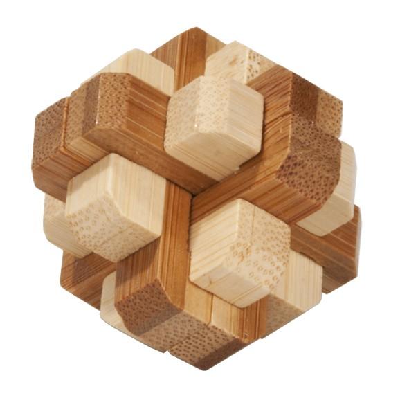 """Bambus-Puzzle in der Dose """"Runder Knoten"""""""