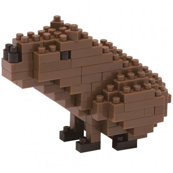 Nanoblock: Wasserschwein (Capybara)