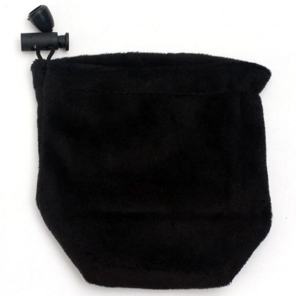 Soft Velvet Bag Schwarz