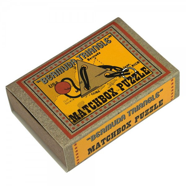 Matchbox Puzzle Bermuda Dreieck