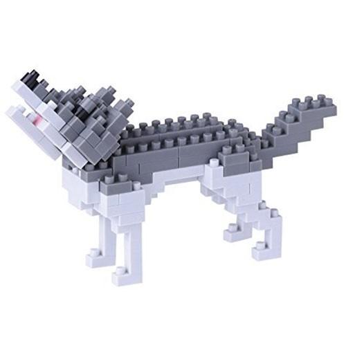 Nanoblock: Grauer Wolf