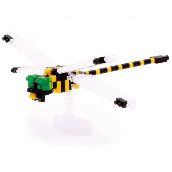 Nanoblock: Golden-ringed Dragonfly (Libelle)